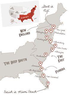 Ultimate East Coast | The American Road Trip Company