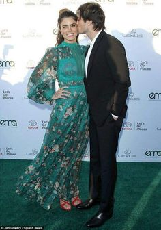 Ian Somerhalder and Nikki Reed, Environmental Media Association's 2017 EMA Awards at Barkar Hangar on Saturday (September 23) in Santa Monica, Calif.