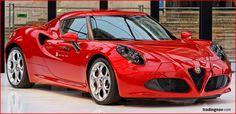 Alfa Romeo 4C #SuperCars #Cars