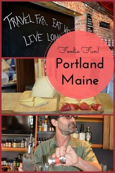Cunning cocktails with bespoke bitters....more cheese than you can shake a stick at.... and a few seriously hip restaurants. This is Portland, Maine's food scene. YUM!