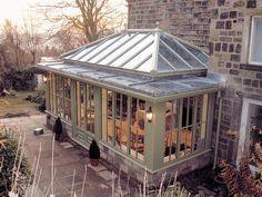 Conservatory, Orangery, Garden Room, the perfect complement to your home Cedar Pergola, Pergola Swing, Wooden Pergola, Pergola Patio, Pergola Kits, Pergola Ideas, Patio Ideas, Wooden Playhouse, Pergola Cover