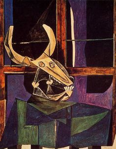 Pablo Picasso - Still Life with Steer's Skull (1942)
