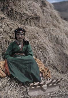 Yazidi girl. Armenian Kurds