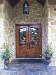 elegant double front doors. Wood And Wrought Iron Door: Castille Custom Arch Top Double Door | Grill Doors Pinterest Elegant Front