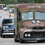 2013 hot rod power tour cars on the road trip lineup rat rod mail truck 003 150x150 photo