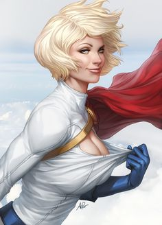 Another Breezy Day by `Artgerm on deviantART