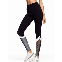 Yoga Pants & Leggings - PINK ❤ liked on Polyvore featuring workout and victoria's secret