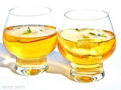 Rezept French Apple Cocktail mit Calvados - lekker.berlin | Rezepte und mehr ... Food-Blog, Backen, Kochen, Drinks, Cocktails - Viel Spaß beim Ausprobieren.