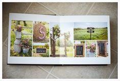 wedding album layout ideas