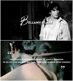 Bellamy Blake || The 100 || Bob Morley