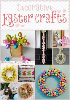 37 Decorative Easter Crafts | AllFreeHolidayCrafts.com