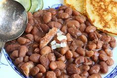 Pinto Beans & Fried Corn Bread - Southern Family Cooking