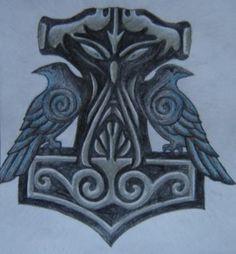 Thors hammer ravens