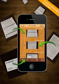 Worldscan app- scan docs with your phone and convert them to PDF