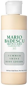 The Fashion  Beauty Blog at SMARTER has a lot to say about our Summer Shine Body Lotion. Its non-greasy and adds a subtle shimmer for a natural-looking glow. But dont take our word for it- check out this blog post! #mariobadescu #skincare