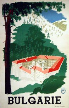Original Vintage Posters -> Travel Posters -> Bulgaria - AntikBar