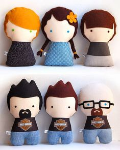 The Citizens Collectible - Personalized Handmade Rag Dolls Small Sewing Projects, Sewing Patterns For Kids, Doll Patterns, Sewing Crafts, Felt Animal Patterns, Stuffed Animal Patterns, Puppet Toys, Sewing Dolls, Soft Dolls