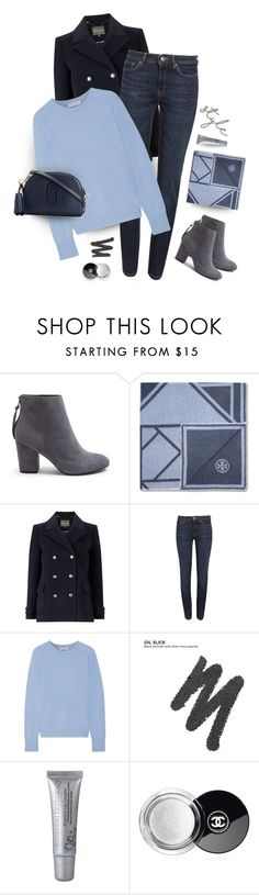 """""""Cashmere & jeans"""" by muse-charming ❤ liked on Polyvore featuring Trilogy, Steve Madden, Tory Burch, Phase Eight, Weekend Max Mara, Equipment, Urban Decay, Chanel and Marc Jacobs"""