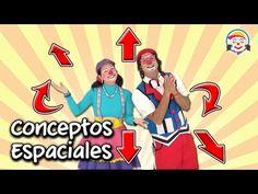(4) Ubicación en el espacio: arriba, abajo, izquierda y derecha | Videos Educativos para Niños - YouTube