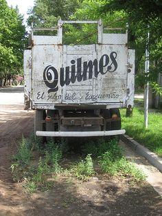 Quilmes truck