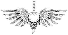 skull_with_wings_by_crashjensen-d2zeox3.jpg (3150×1650)