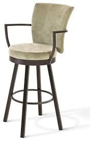 Image result for upholstered bar stools with backs and arms uk