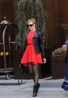 Evan-Rachel-Wood-Prada-Minimal-Baroque-Sunglasses-Black-Christian-Louboutin-Metaliboots-Boots