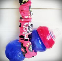 Sippy Cup/Bottle/Toy Leash - attach to stroller so bottle or toy doesn't fall on ground