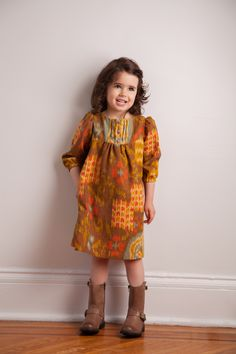 FRANKLIN DRESS (digital sewing pattern) — Brooklyn Pattern Company  Use for flannel Christmas nightgowns