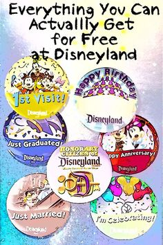 Pins aren't all - these are all the things you can actually get for free at Disneyland.