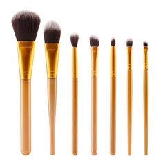 Cosmetic 7 Pcs Plastic Handle Nylon Face Eye Makeup Brushes Set #CLICK! #clothing, #shoes, #jewelry, #women, #men, #hats