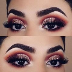 Here are 23 glam makeup ideas for Christmas, from Stay Glam: Christmas is suc. make up sparkle Here are 23 glam makeup ideas for Christmas, from Stay Glam: Christmas is suc… - Schönheit New Makeup Ideas, Makeup Hacks, Makeup Inspo, Beauty Makeup, Makeup Tutorials, Diy Makeup, 2017 Makeup, Makeup Style, Makeup Geek