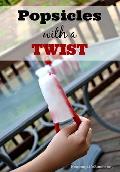 Popsicles with a Twist