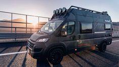 Mercedes Sprinter 4x4 Camper, Sprinter Van, Ducato Camper, Custom Camper Vans, Truck Tent, Wakeboard, Van Design, Camper Caravan, Off Road Camper