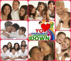 """Yo amo a una persona con síndrome de Down""."