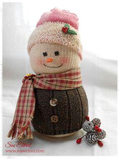 Updated Sock Snowman