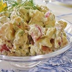 Aardappelsalade met dille @ http://allrecipes.nl