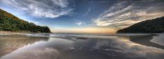 Reflection of Sunset (Nicholas / Louisville. KY) #NIKON D800 #landscape #photo #nature