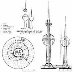 /kuwait towers sketch
