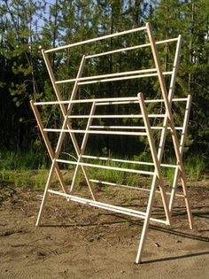 "The ""homesteader"" drying rack from homesteaddryingracks.com SO need a few of these :0}"