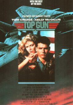 Top Gun...this movie still gets to me.  Beach volley ball is the best.  I always fast forward when Goose dies...