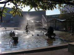 Jean Tinguely fountain, Basel, Switzerland www. Basel, Jean Tinguely, Sound Art, Space Place, True Art, Beautiful Space, Public Art, Installation Art, Great Artists