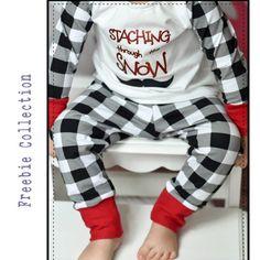 0be20b3205c06 Petite Stitchery & Co FREE Snuggle Wear Patterns! Sewing Patterns Girls,  Pdf Sewing