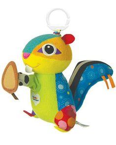 Tomy Lamaze Бурундучок Макс  — 1490р. -------------------------- Мягкая игрушка-подвеска Tomy Lamaze Бурундучок Макс изготовлена из текстиля самого высокого качества. Игрушку можно крепить к коляске, кроватке, автокреслу и др.