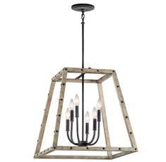 View the Kichler 43520 Basford 6-Bulb Indoor Pendant at Build.com.