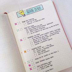My Brain Dump list keeps me organised, focused and helps me make better to-do lists. 😊 Find out more in today's post. Link in bio 🔵 #braindump #todolist #planningahead #bulletjournal #bulletjournaljunkies #bulletjournalcommunity #timemanagement