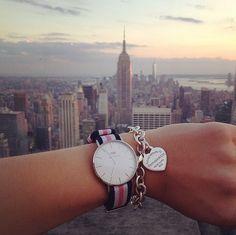 Classy combo. Get the timepiece at www.danielwellington.com! #danielwellington