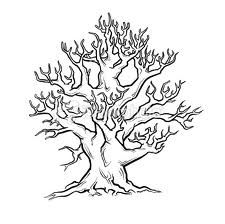 tree drawing with roots. Tree Coloring Page, Adult Coloring Pages, Roots Drawing, Pewter Art, Different Forms Of Art, Tree Sketches, Guest Book Tree, Tree Graphic, Old Trees