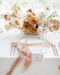 La Tavola Fine Linen Rental: Ritz Snow | Photography: Jana Williams, Venue & Catering: Ojai Valley Inn, Event Planning: Sterling Social, Florals: JL Designs, Paper Goods: Swell Press, Rentals: Found Rentals and Theoni Collection