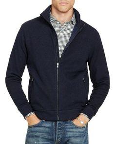 POLO RALPH LAUREN Knit Jacket. #poloralphlauren #cloth #jacket